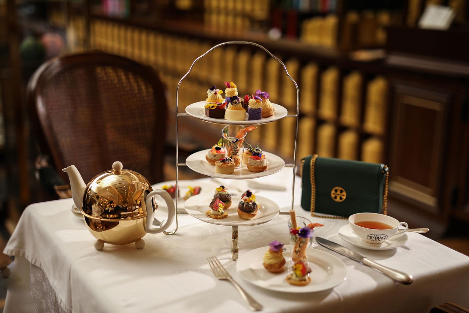 Tory Burch X Twg Tea S High Tea Set Is What Your Instagram