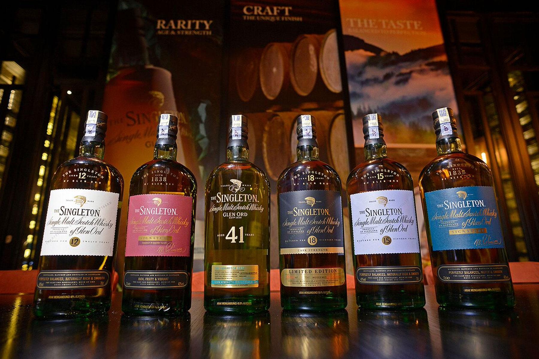 Whisky Hour: The Singleton of Glen Ord   FirstClasse