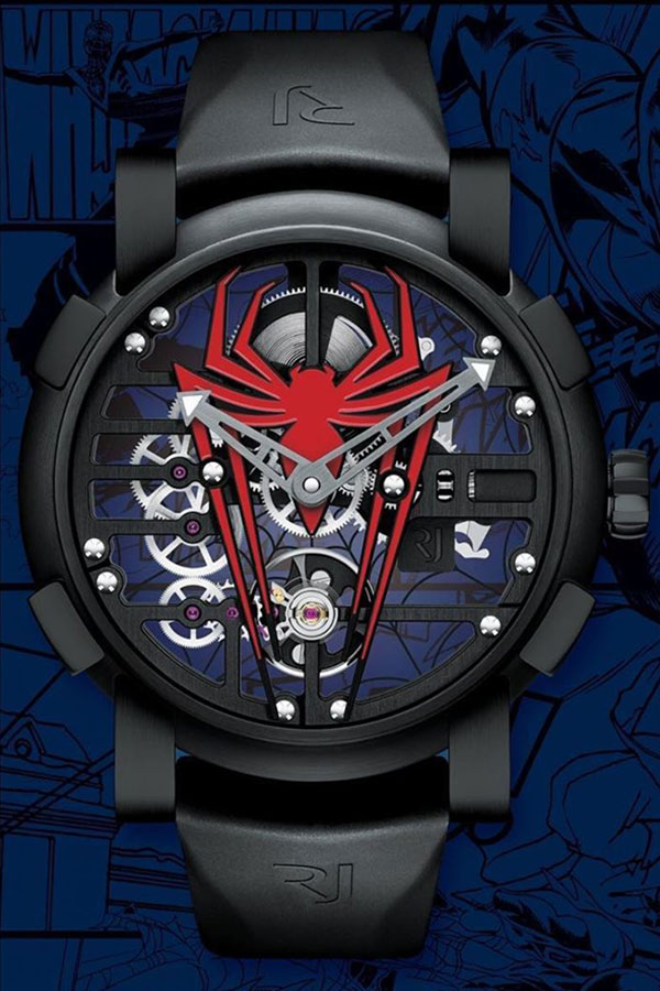 Romain Jerome New Skylab RJ X Spiderman