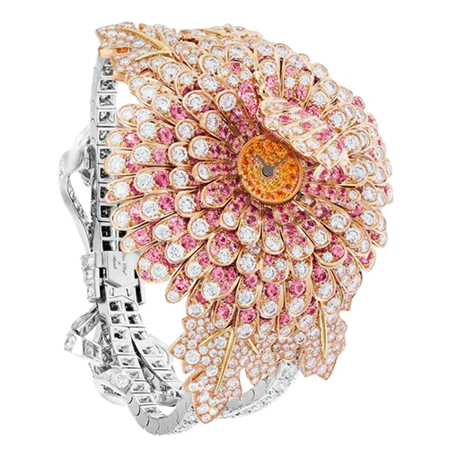 Van Cleef & Arpels Chrysantheme Secret Watch