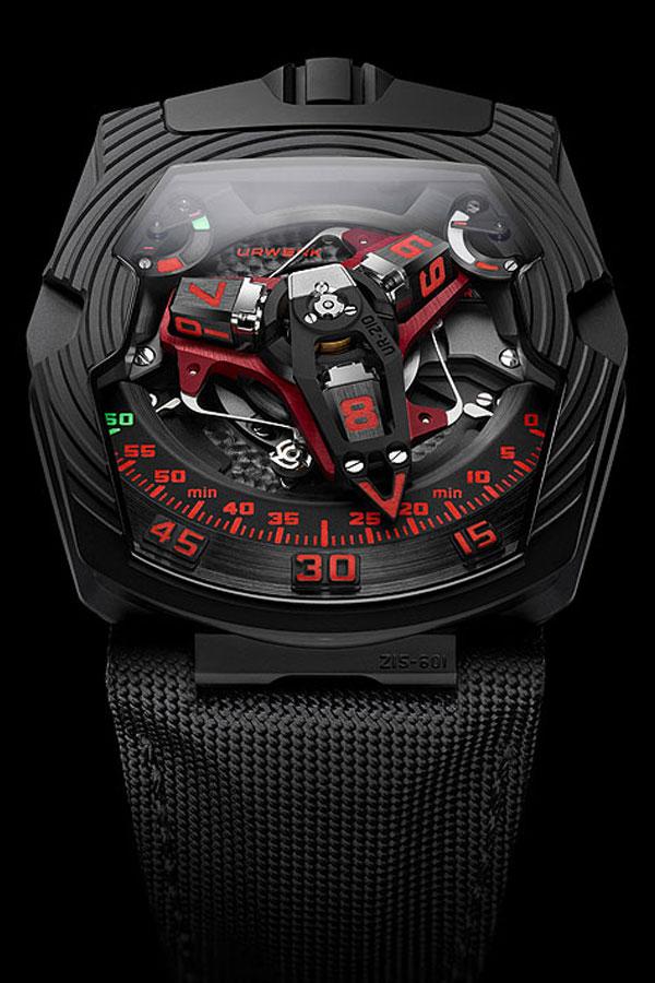 Urwerk UR-210 Black Platinum