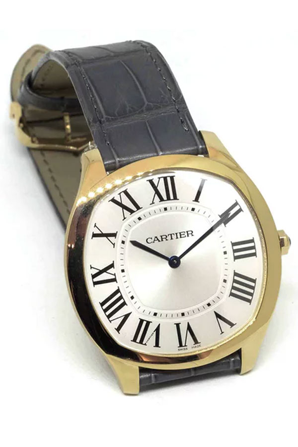 Cartier Drive de Cartier Extra-Flat In Stainless Steel And Yellow Gold
