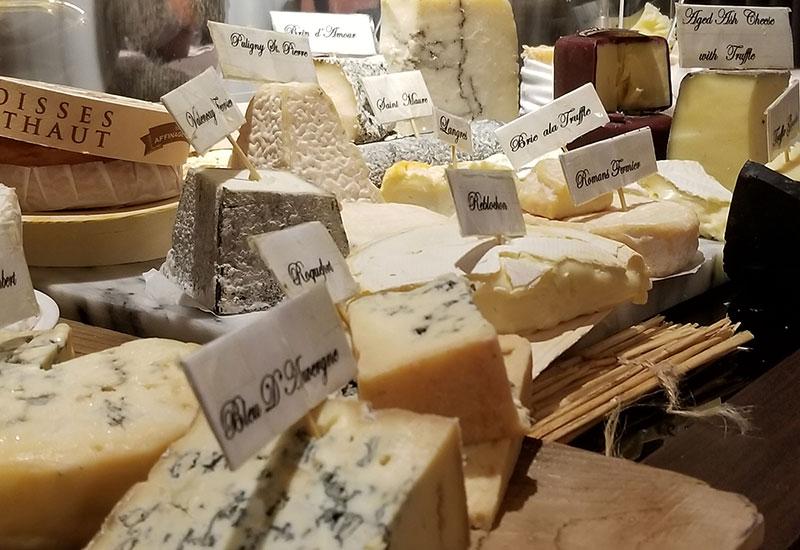 Dessert: Cheese platter