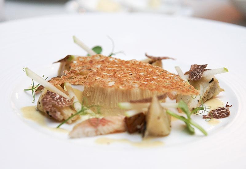 Entrée: French Larnaudie foie gras
