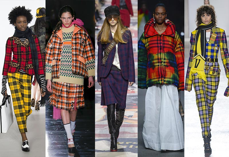 Colourful plaids
