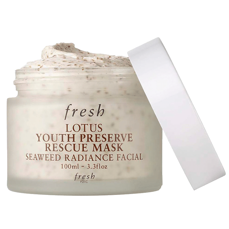 Fresh Lotus Youth Preserve Rescue Mask Seaweed Radiance Facial