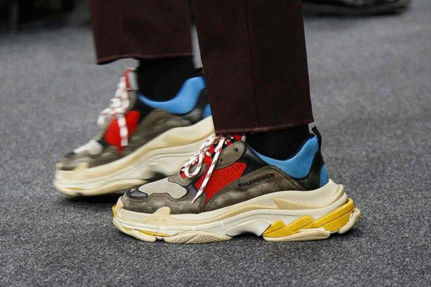 What's trending: Ugly sneakers (could