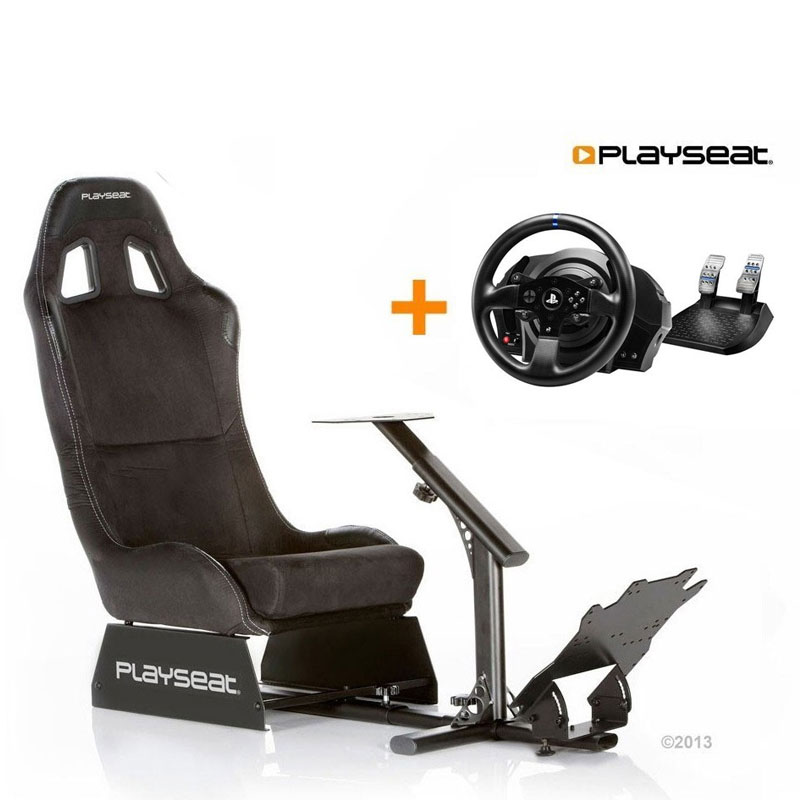 Playseat Alcantra+ Thrustmaster T300RS Racing Wheel