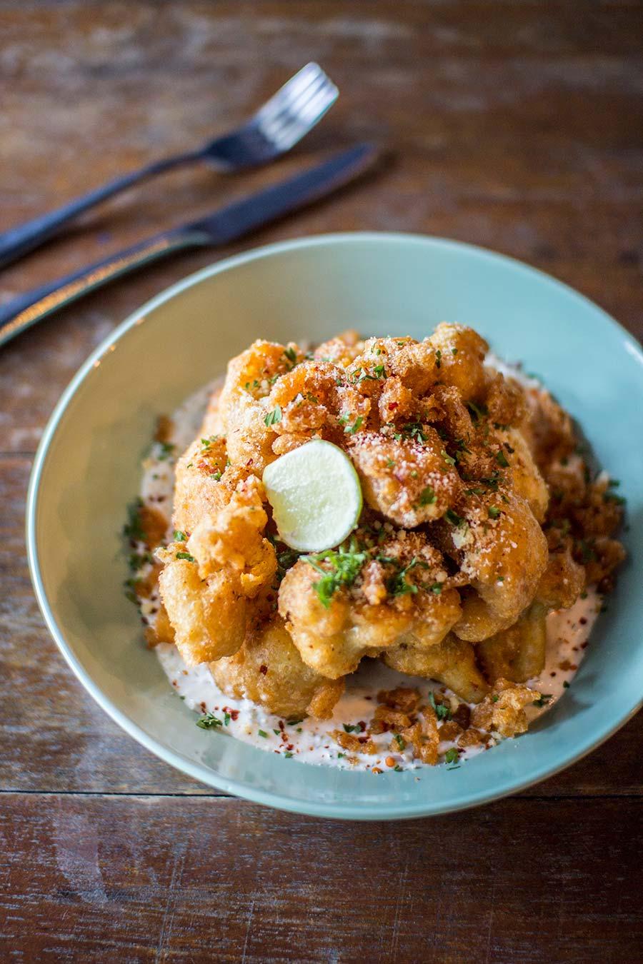 Crispy parmesan cauliflower (RM 22)