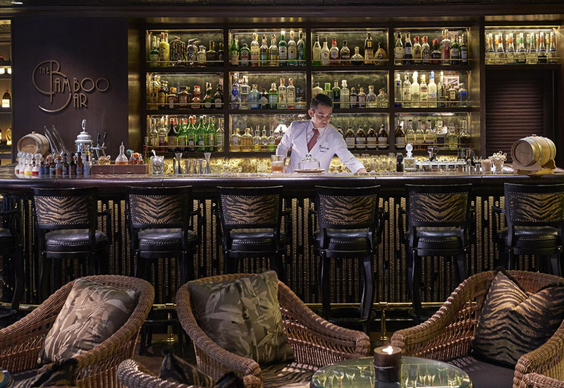 #8 The Bamboo Bar at The Mandarin Oriental Bangkok (Thailand)