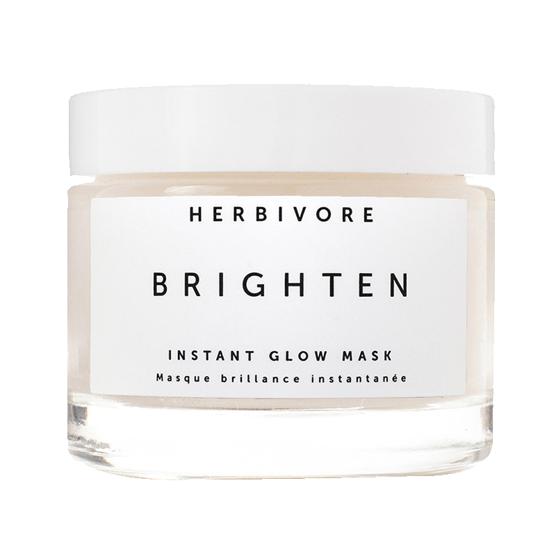 Herbivore Botanicals Brighten - Pineapple Enzyme + Gemstone Instant Glow Mask