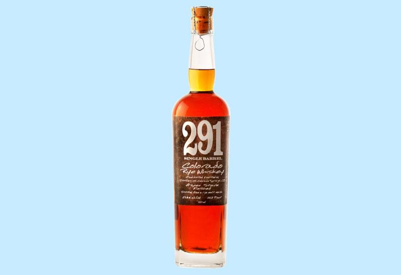 World's Best Rye: 291 Colorado Rye Whiskey Aspen Stave Finished