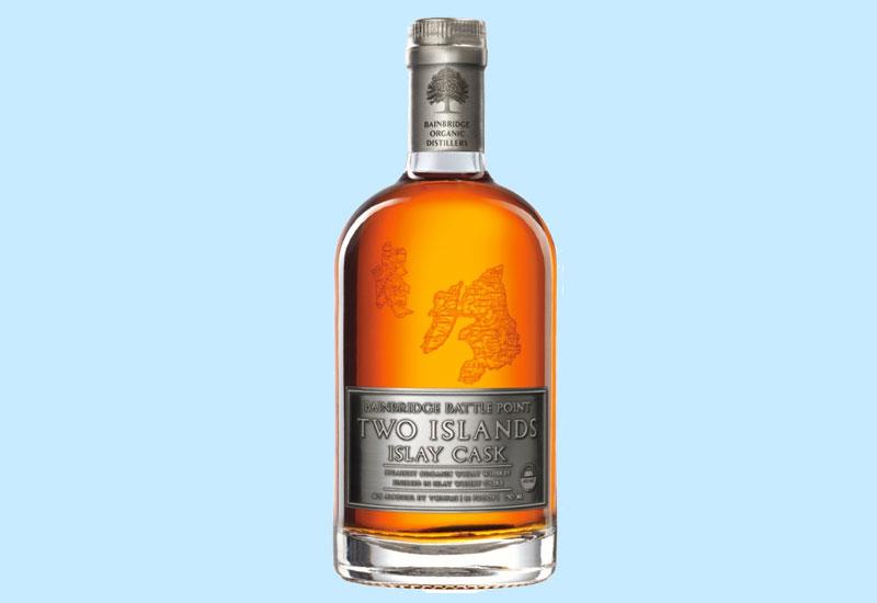 World's Best Wheat: Bainbridge Battle Point Two Islands Islay Cask Wheat Whiskey