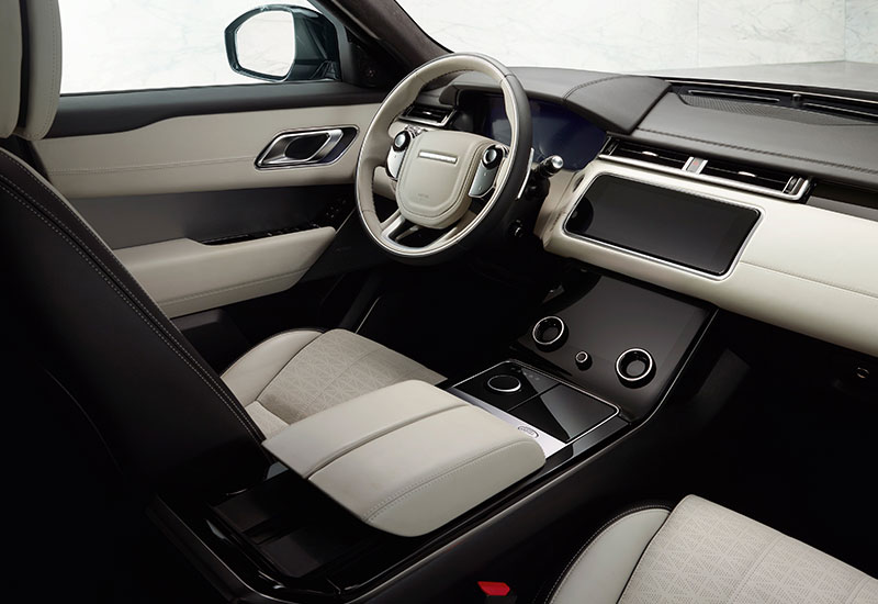 Clear, refined interior