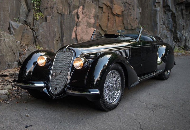 #10: 1939 Alfa Romeo 8C 2900B Lungo Spider - $19.8 million