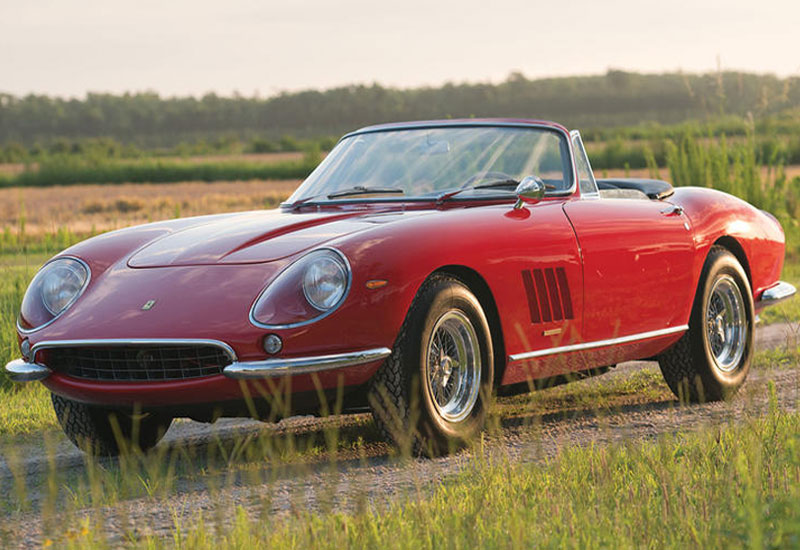 #6. 1967 Ferrari 275 GTB/4 S N.A.R.T Spyder - $27.5 million