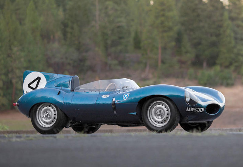 #8. 1955 Jaguar D-Type XKD 501 - $21.8 million