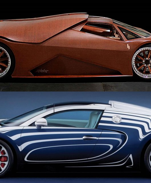 Weird car materials