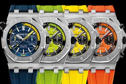 Colourful watches