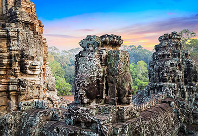 Angkor Thom scavenger hunt by bicycle