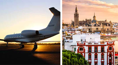 Taste your way around Spain by private jet