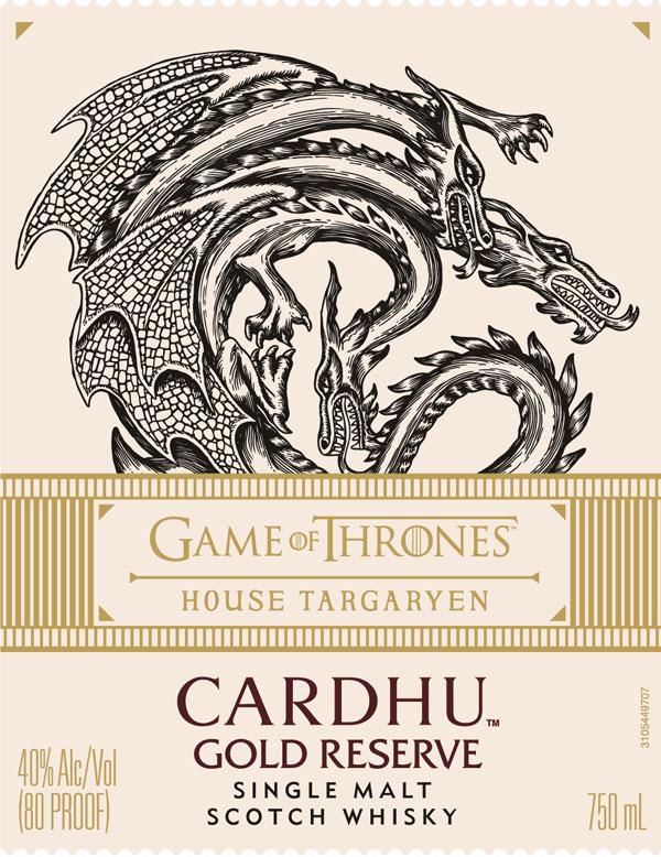 House Targaryen: Cardhu Gold Reserve