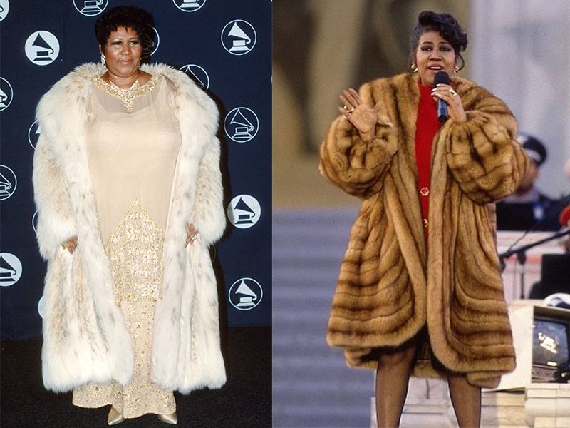 Aretha Franklin fashion moments