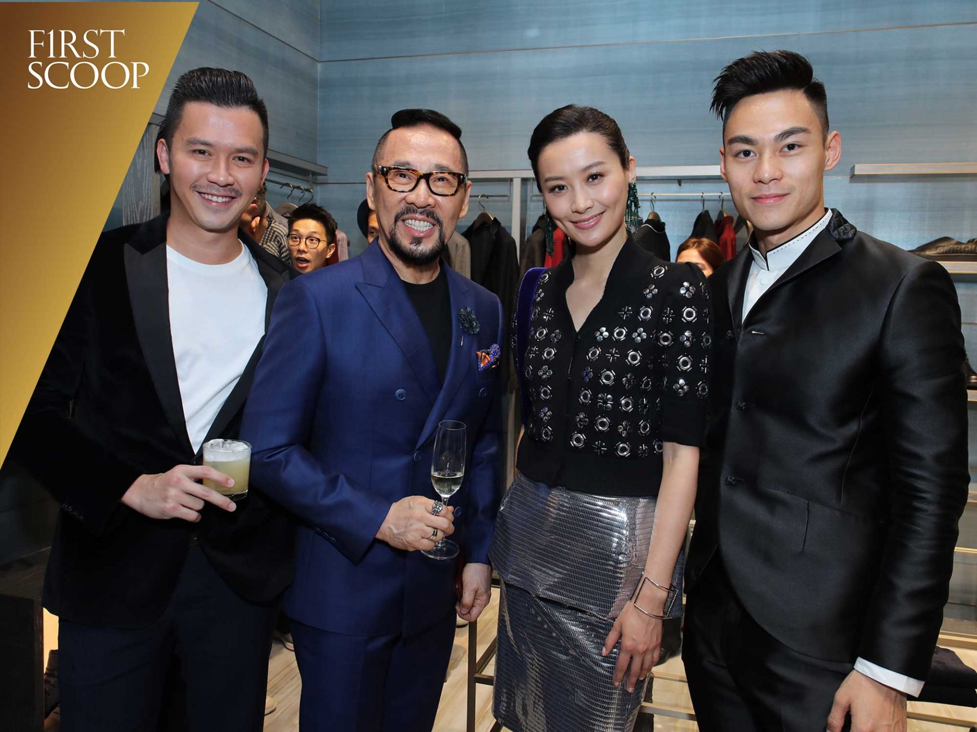 first scoop armani kl store opening