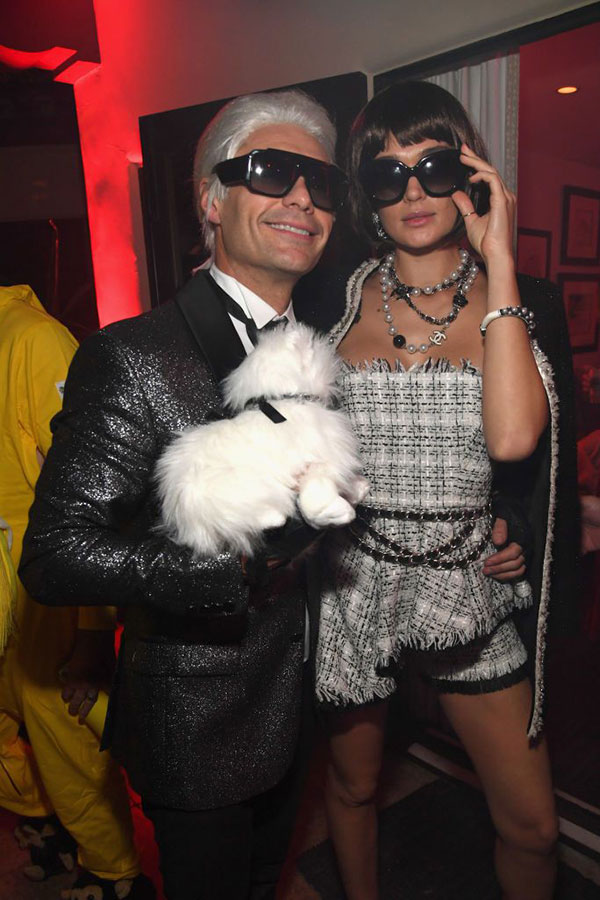 Ryan Seacrest and Shayna Taylor Halloween 2018