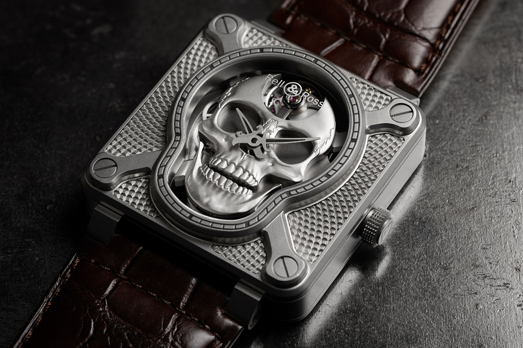 Bell & Ross BR01 Laughing Skull arrives just in time for