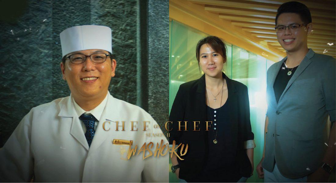Chef on Chef 2 Episode 3: Hanaya serves Chef Jun Wong