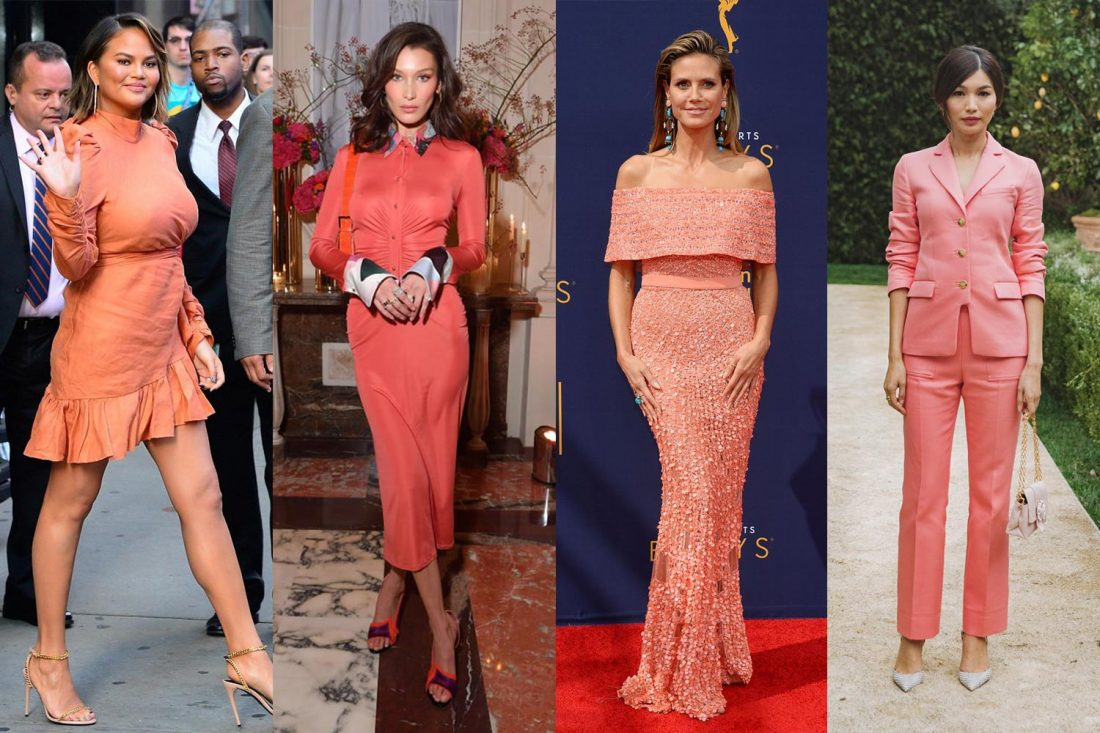4cac5c2e900f5 How your favourite stars are wearing Pantone s 2019 Colour of the Year