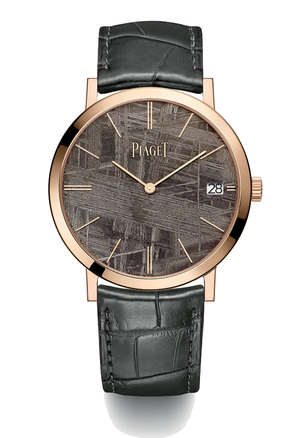 Piaget Altiplano with grey meteorite dial