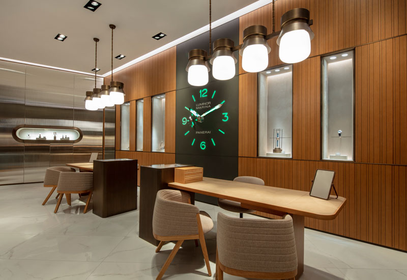 With a new store, Panerai wants you to dive into its story