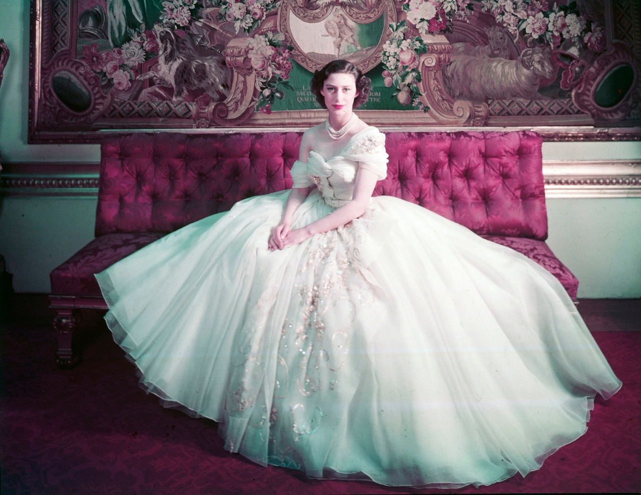 Princess Margaret's gown