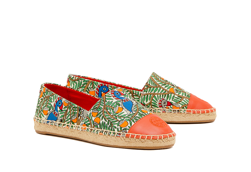 Tory Burch Colour Block Flat Espadrille