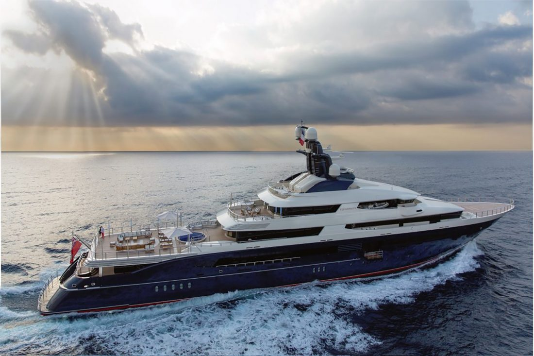Inside Jho Low's superyacht Equanimity, now for sale