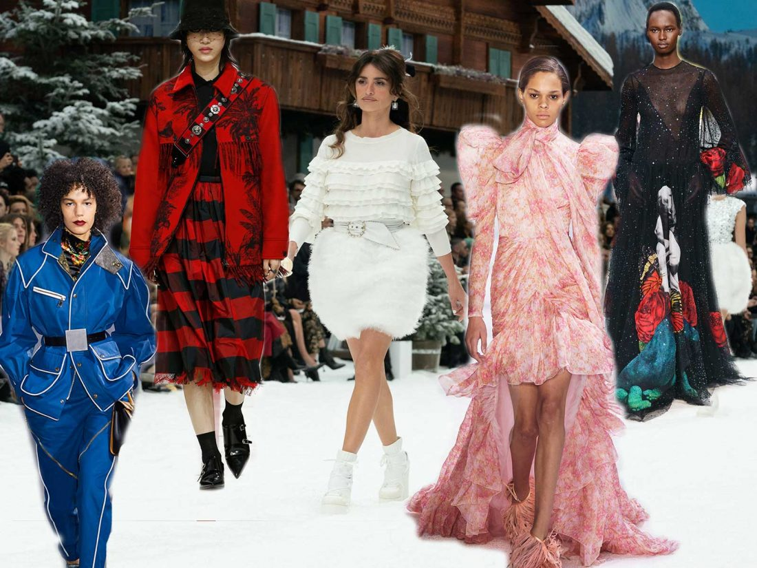 828fb6ea8c867 Fashion Week Fall Winter 2019 highlights
