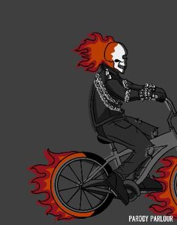 Ghost Cyclist
