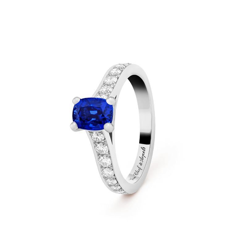 Romance solitaire ring from Van Cleef & Arpels