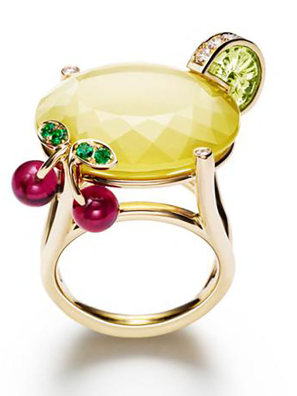 Limelight Cocktail Inspiration Ring