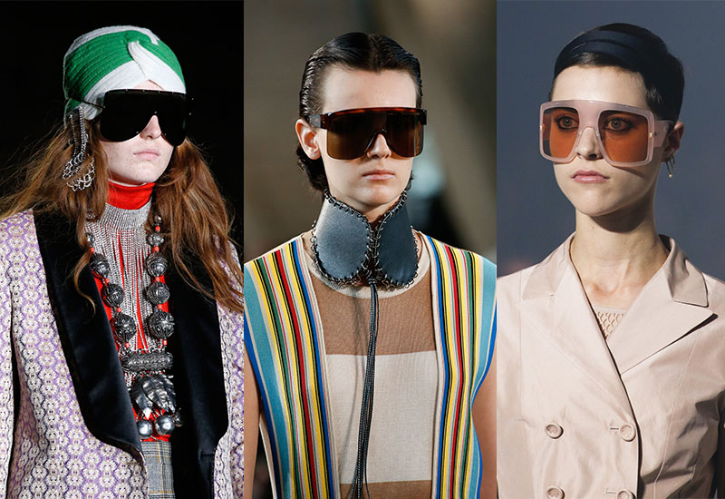 0ef816d76a 5 bold sunglasses trends to take on Spring Summer 2019