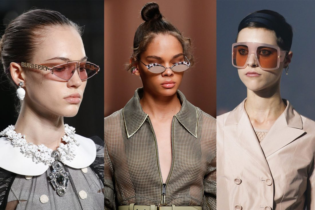 b00ffe90a4b 5 bold sunglasses trends to take on Spring Summer 2019