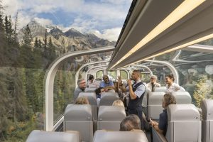 Rocky Mountaineer GoldLeaf Service