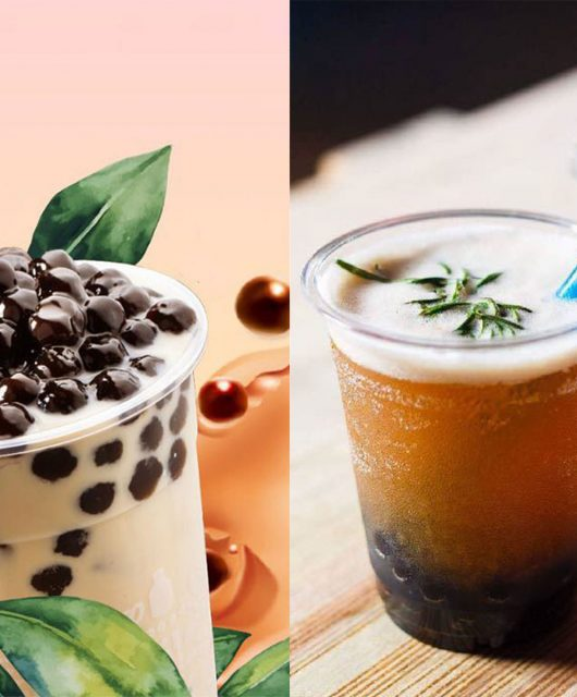Alcoholic bubble tea in KL