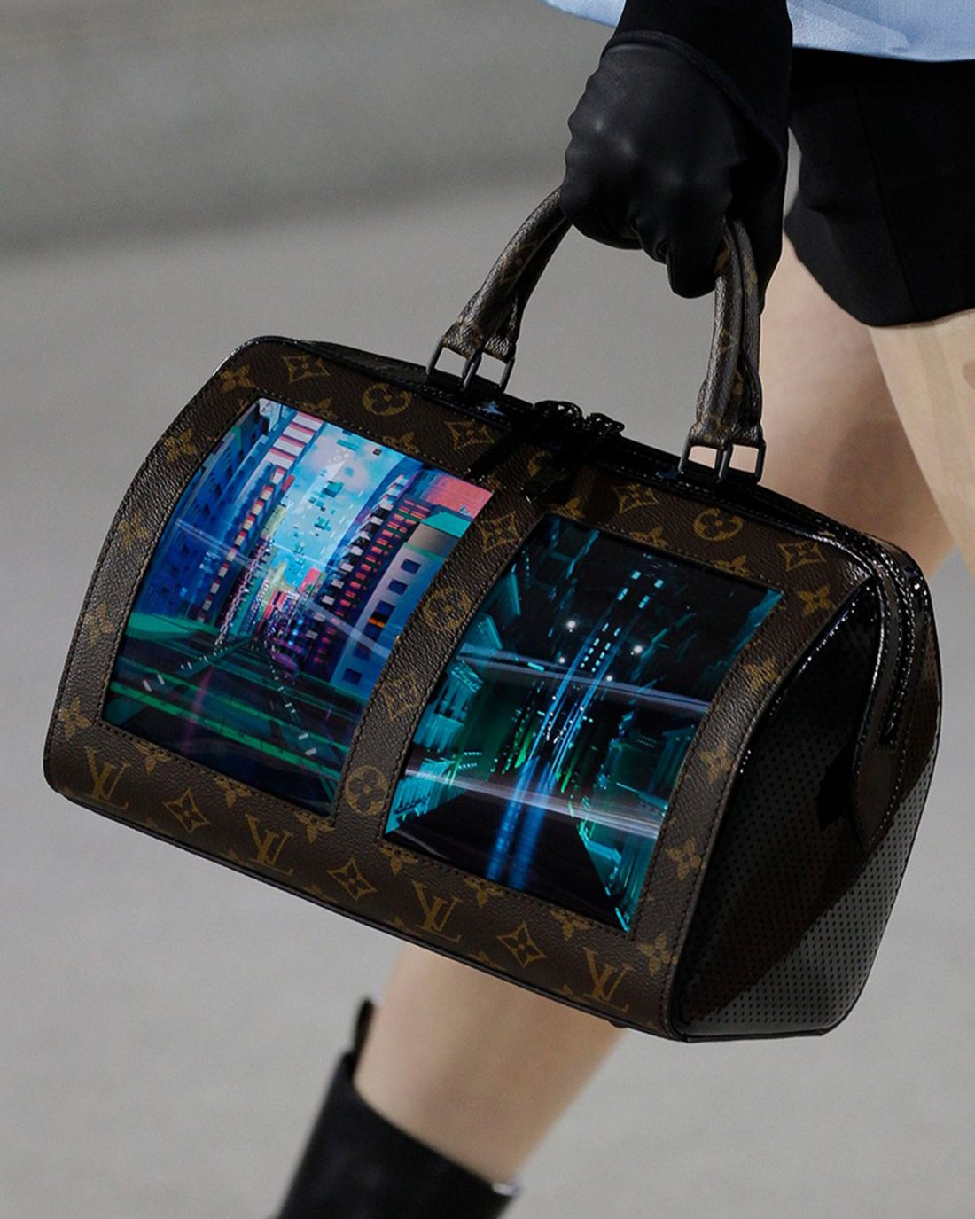 2a4d339d0c Could this Louis Vuitton Cruise 2020 LED screen bag be the future of bags?