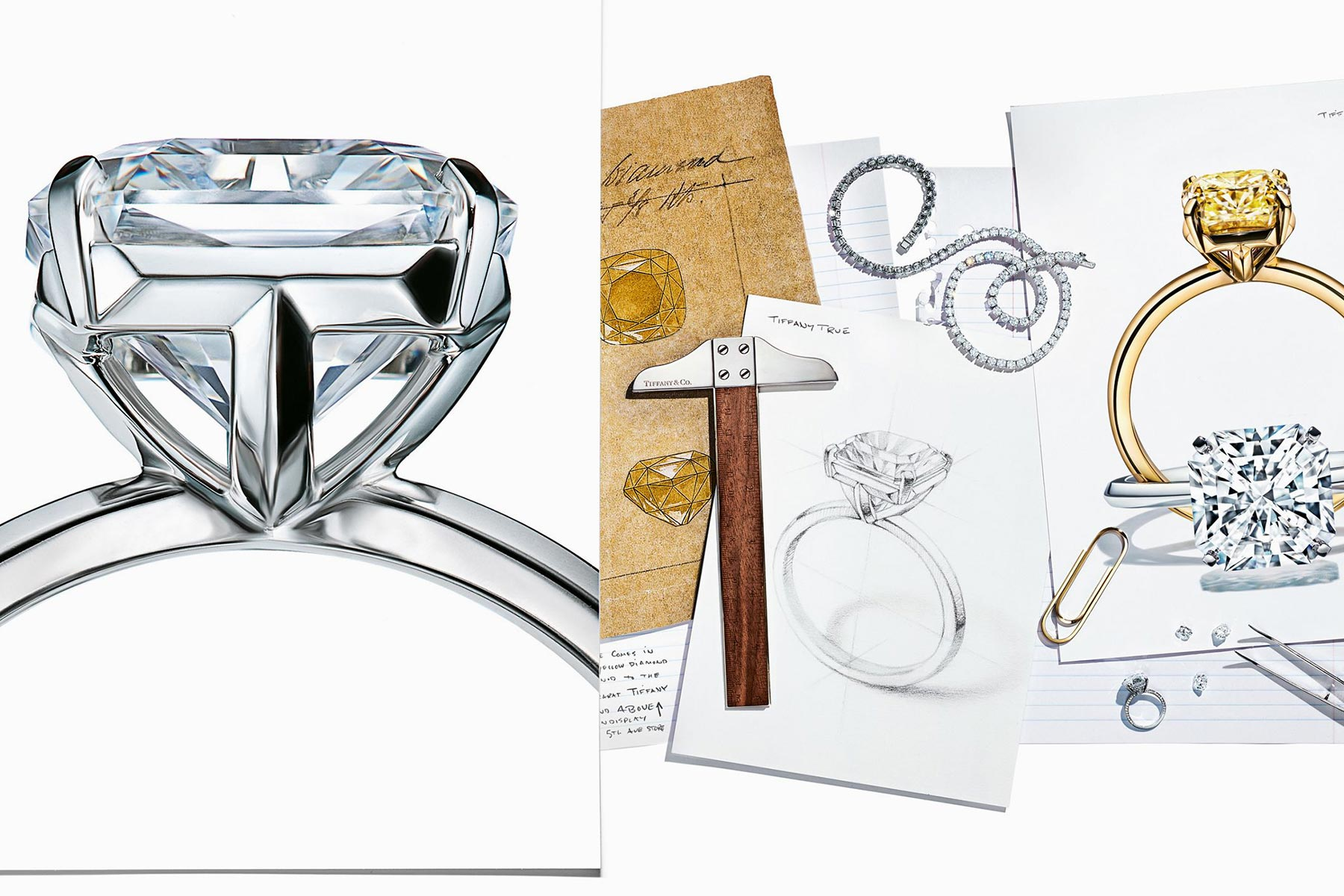 f7ce1daf538bb8 3 truths and one lie about the new Tiffany True engagement ring