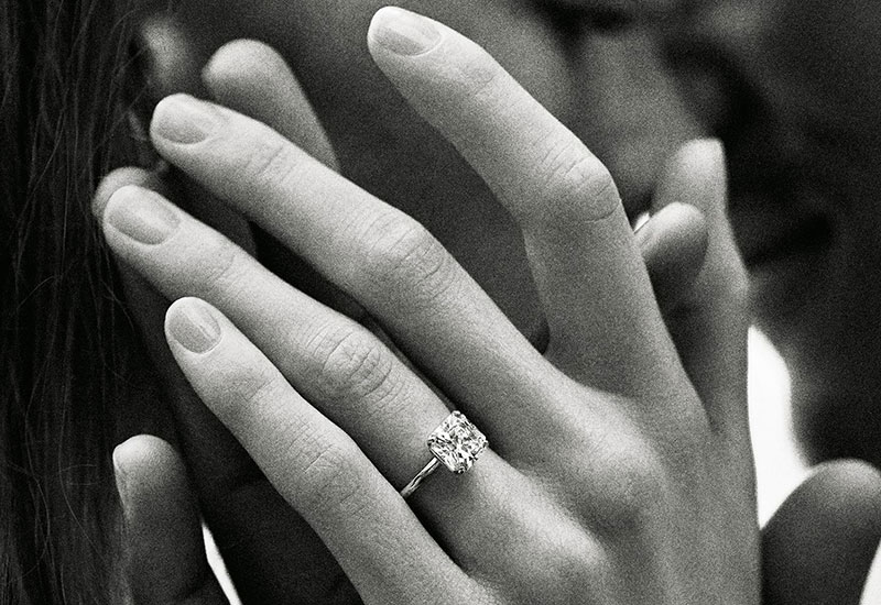 71b4ee95054681 Charles Lewis Tiffany could very well be the father of the engagement ring  as we know it today. Back in 1886, during which most diamond rings were set  in a ...