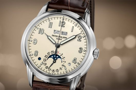 Watch complications calendar