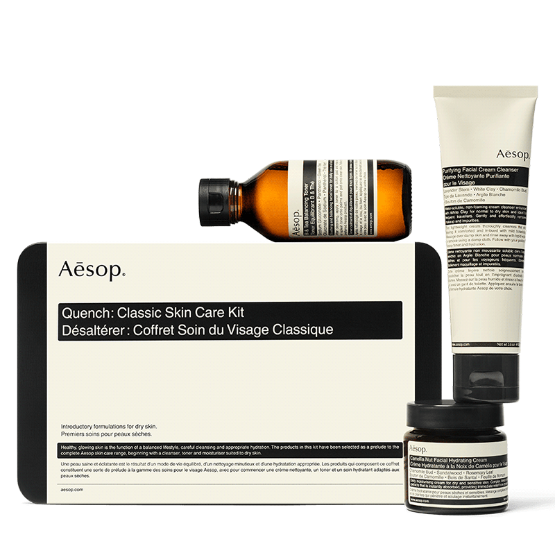 Aesop Quench: Classic Skincare Kit